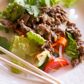 Vietnamese beef salad featured image