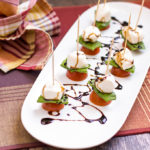 Caprese skewers feature image