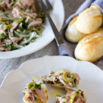 Pork tenderloin salad feature image