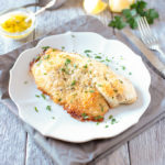 Baked parmesan and panko tilapia feature image