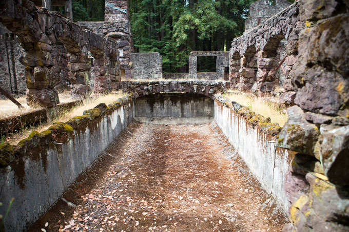 Northern California, Wolf House, Jack London State Park
