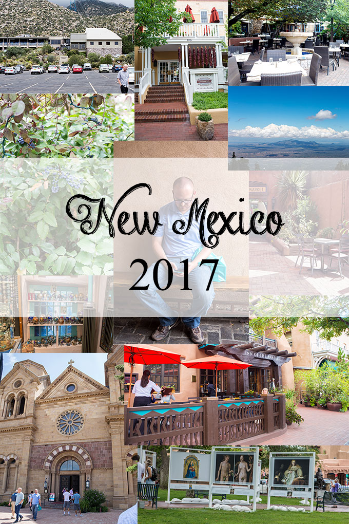 Feature collage of images of our New Mexico trip