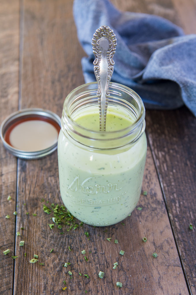 Avocado ranch dressing feature image