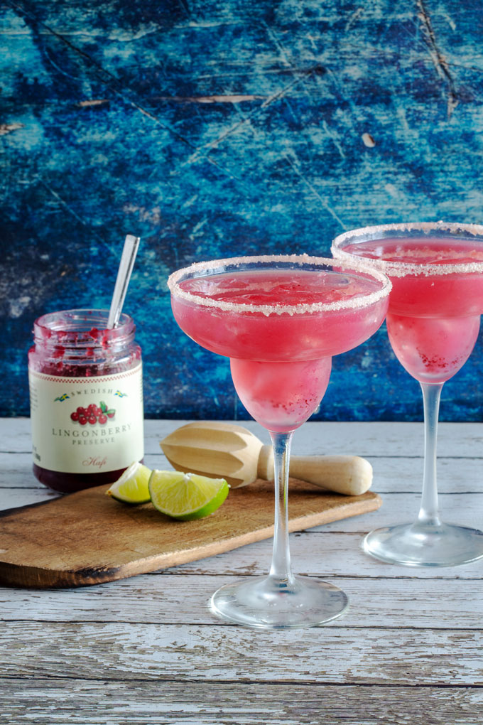Lingonberry Margaritas